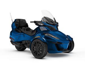 Can-Am Spyder RT Limited Oxford Blue Dark 2018 Three Quarter