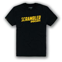 Ducati Scrambler Milestone Black T-shirt