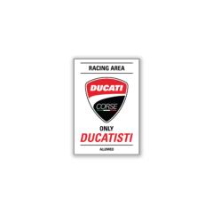 Ducati Corse Racing Area Magnet
