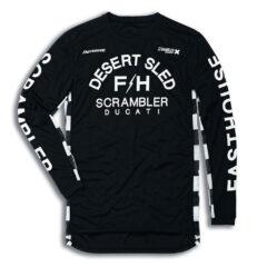 Ducati Grindhouse Desert Sled Long-sleeved T-Shirt