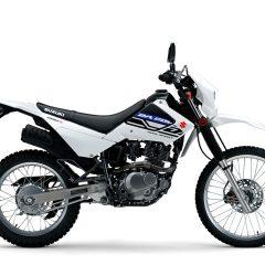 Suzuki DR200S 2019 White Side