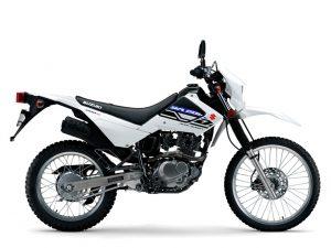 Solid White Suzuki DR200S 2019