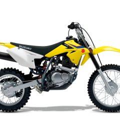 Suzuki DR-Z125 Yellow Right Side