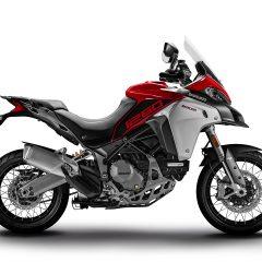 Red Ducati Multistrada 1260 Enduro