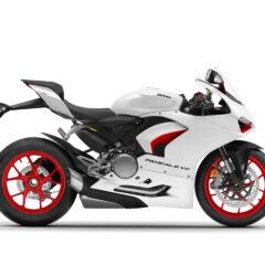Ducati Panigale V2 Star White Silk right side