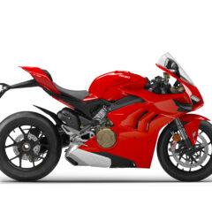 Ducati Panigale V4 Ducati Red right side