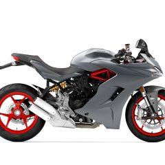 Titanium Grey Ducati SuperSport