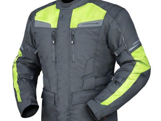 Black/Yellow DriRider Compass 2 Youth Jacket