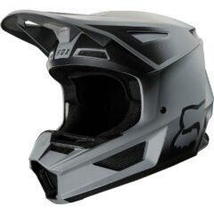 Matt Black Fox V2 VLAR Helmet Left