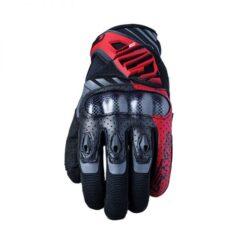 Red/Black Five RS-C Gloves Back