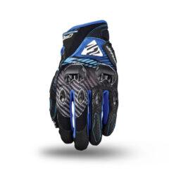 Fibre Blue Five Stunt EVO Replica Glove Back