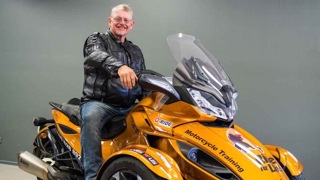 Graham Davies, Ride for Life.