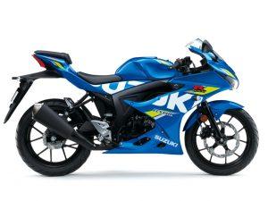 Suzuki GSX-R125 2019 Blue Side