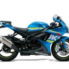 Suzuki GSX-R600 Blue Right Side