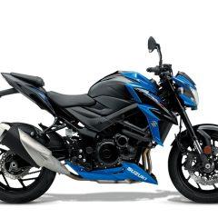 Suzuki GSX-S750 Blue Black Right Side