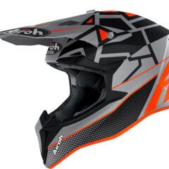 Mood Orange Matt Airoh Wraap Helmet Side
