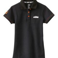 KTM Girls Racing Polo Black