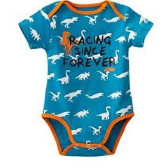 KTM Baby Dino Bodysuit - Blue
