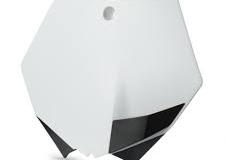 KTM Start Number Plate - White