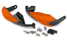 Black/Orange KTM SX/EXC/SMR/Freeride Handguard Low Version
