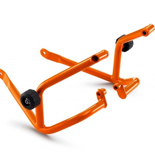 Orange/Black KTM 390 Duke 13-15 Crash Bars