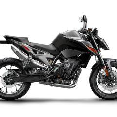 Black KTM 790 Duke 2018