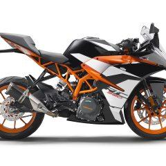 Orange KTM RC 390 2017