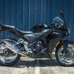 Honda CBR250R Black 2012 Right Side
