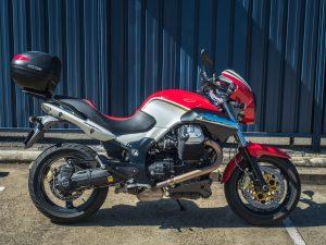 Moto Guzzi Sport 1200 8V Corsa Red 2012 Right Side