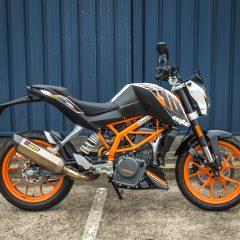 KTM 390 Duke 2014