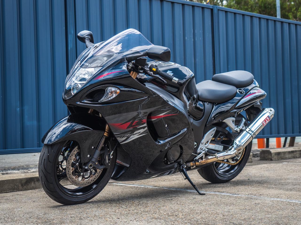 Suzuki Hayabusa 2012 Glass Black ⋆ Motorcycles R Us