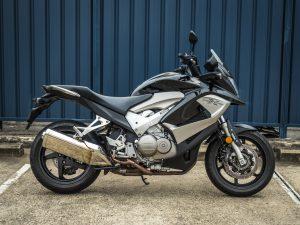 Honda VFR800X Crossrunner 2011 Black Right Side