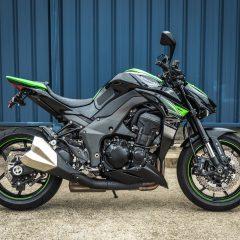 Kawasaki Z1000 2017 Green Right Side