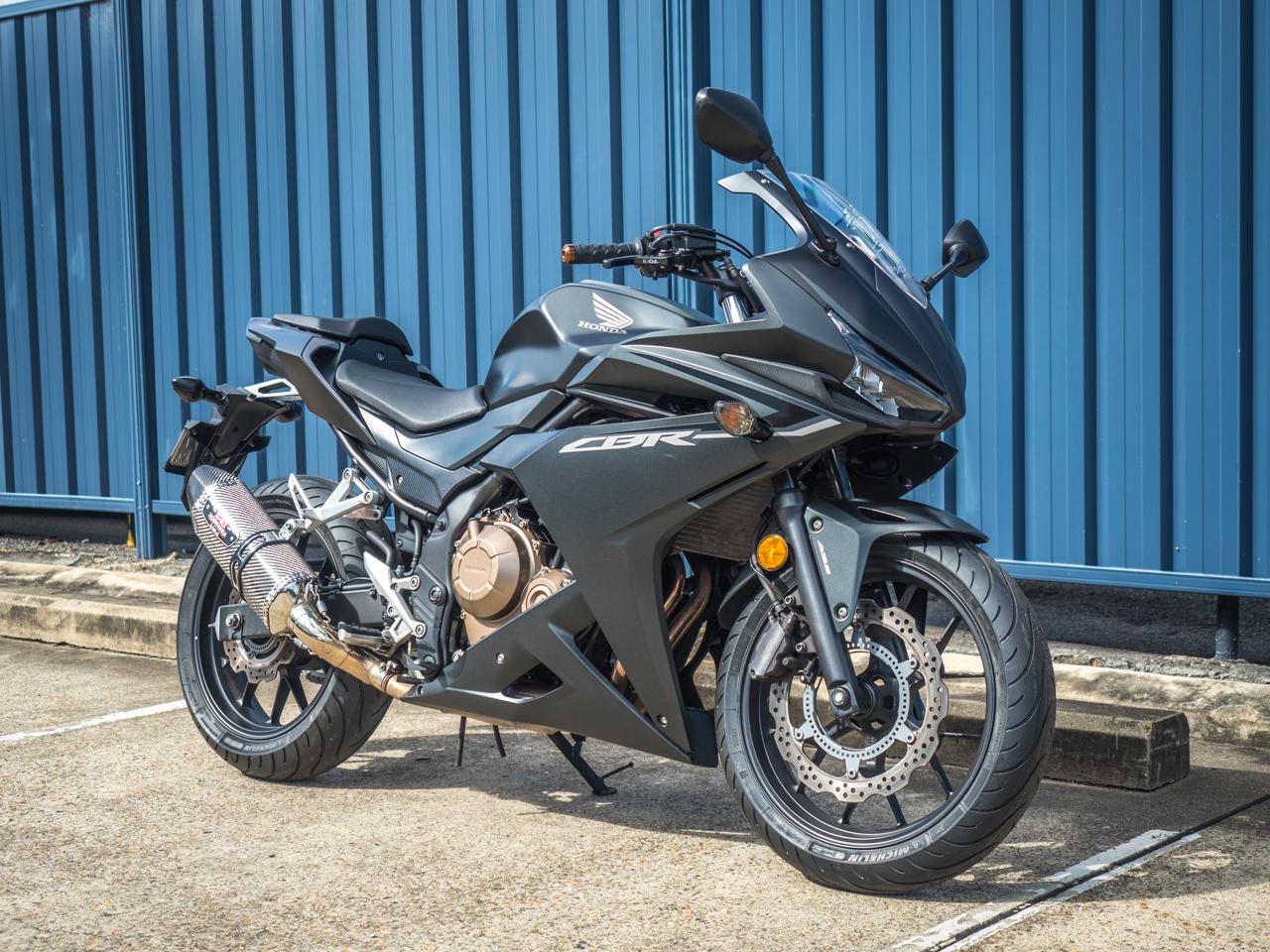 Honda Cbr500r Abs 2017 Matt Black Motorcycles R Us