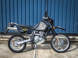 Solid Black Suzuki DR650SE 2019