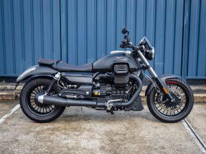 Black Moto Guzzi California Audace 2016