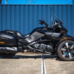 Can-Am Spyder F3T 2017 Black