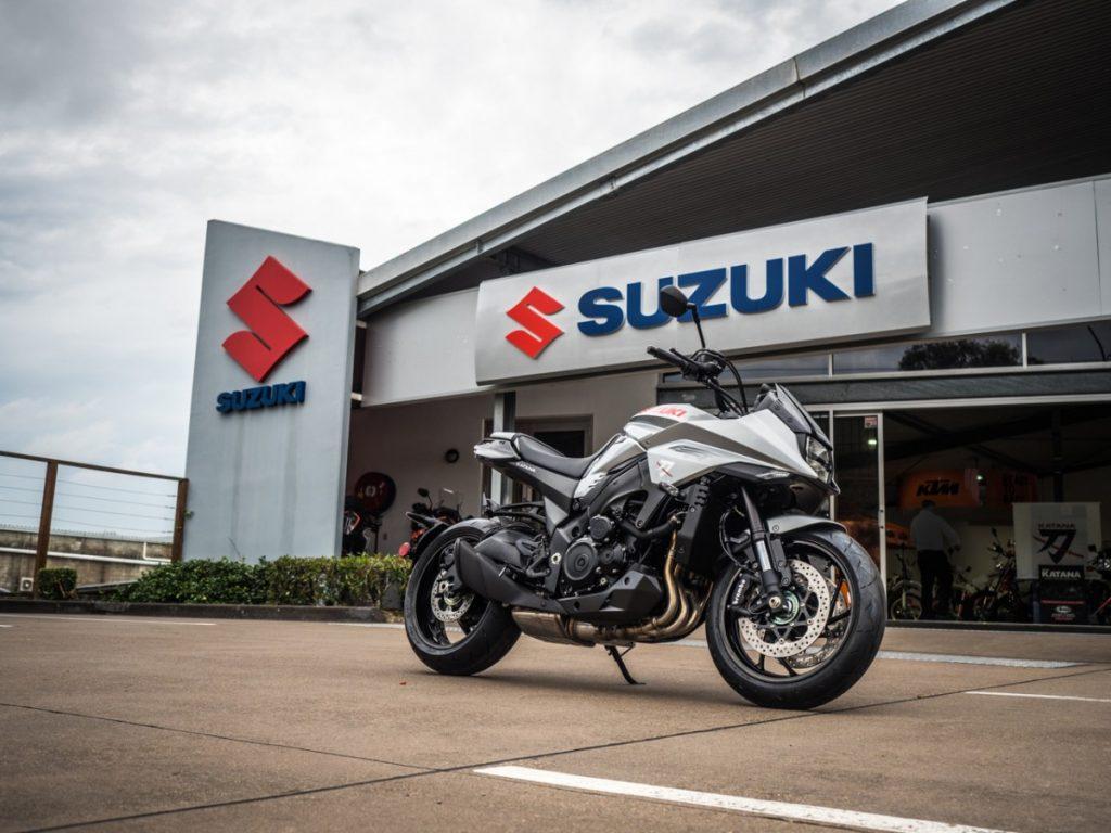 Suzuki Katana Preview | December 2018 at Motorcycles R Us