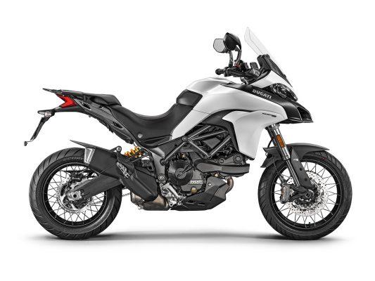 Ducati Multistrada 950 2018 Spoked Wheels in Star White Silk