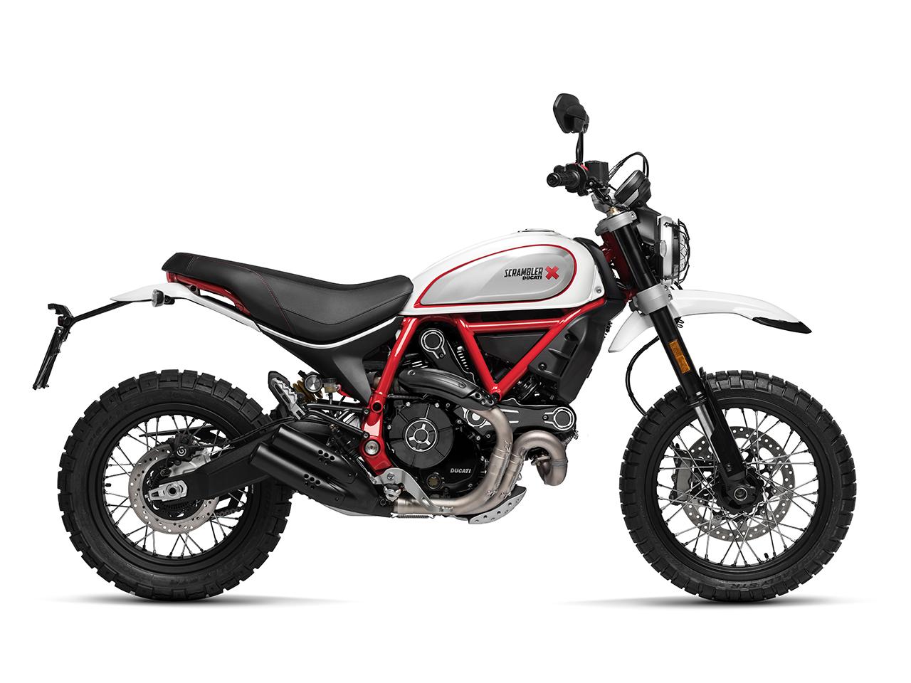 ducati scrambler desert sled 2019 white mirage motorcycles r us. Black Bedroom Furniture Sets. Home Design Ideas