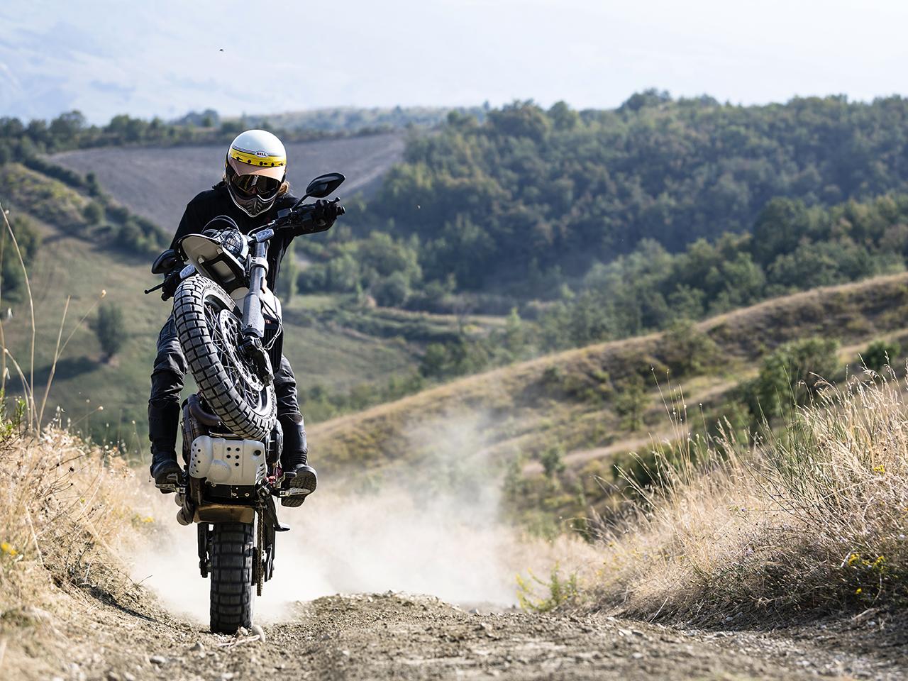 Ducati Scrambler Desert Sled 2019 White Mirage