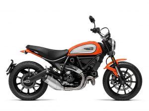 Atomic Tangerine Ducati Scrambler Icon 2019