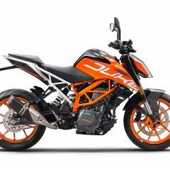 Orange KTM 390 Duke 2018