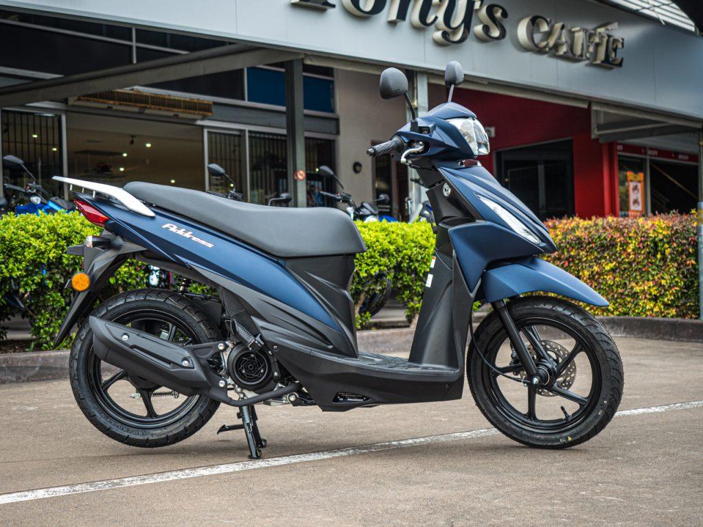Stellar Blue Suzuki Address 110 2020