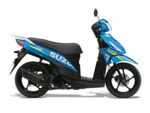 Triton Blue Livery Suzuki Address 110 2019 MotoGP