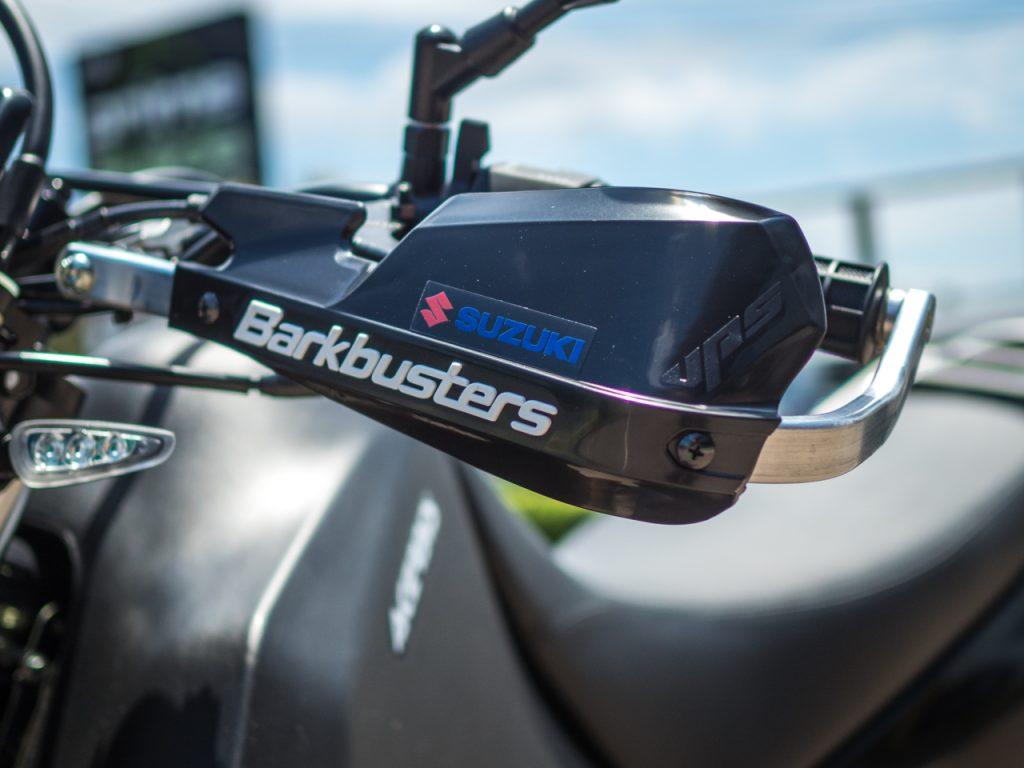 Suzuki DR650SE Barkbuster Reinforced Hand Protectors