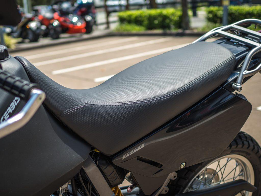 Suzuki DR650SE Seat Concepts