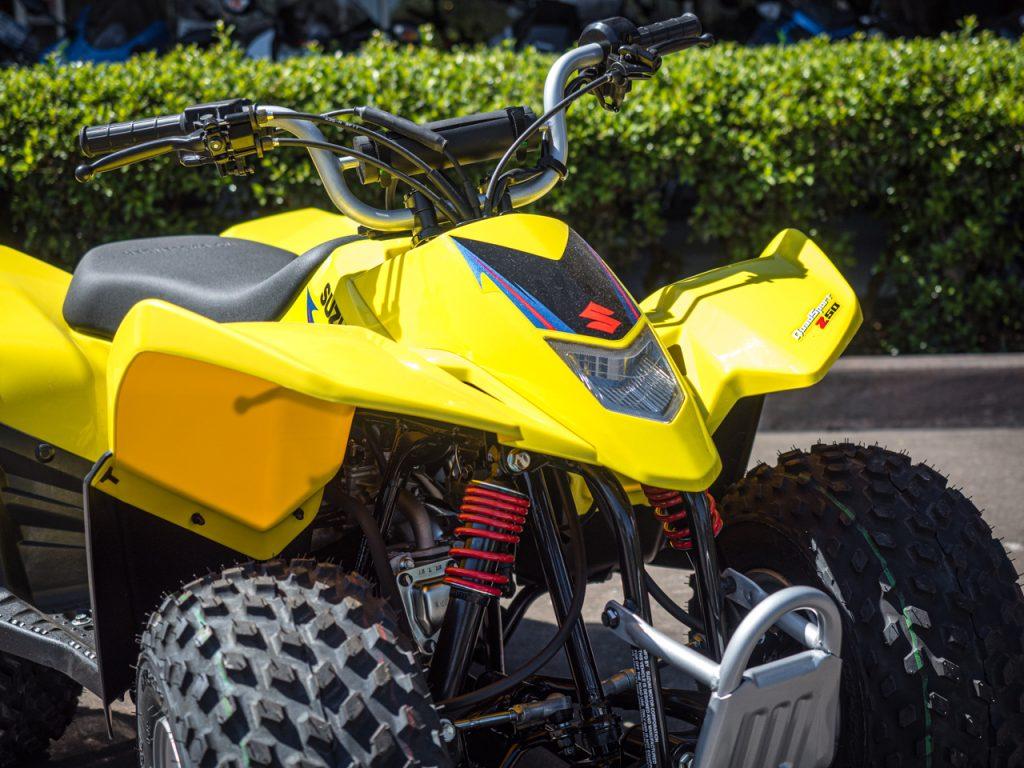 Yellow Suzuki LT-Z90 2019