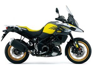 Suzuki V-Strom 1000X 2018 Yellow Studio Right