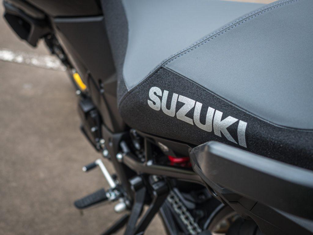 The 2019 Suzuki V-Strom 1000XT in Black with Gold